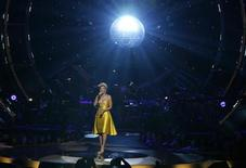 <p>Beyonce performs during the 2008 Fashion Rocks concert to begin the 2009 Spring/Summer Fashion Week in New York September 5, 2008. REUTERS/Lucas Jackson</p>