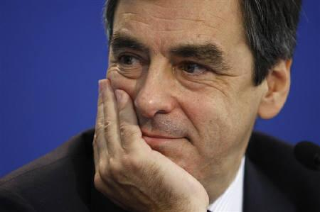 France's Prime Minister Francois Fillon attends a news conference in Paris in this July 24, 2008file photo. French Prime Minister Francois Fillon said on Friday the world stood on the ''edge of the abyss'', gripped by a global financial crisis now threatening industry, trade and jobs worldwide. REUTERS/Charles Platiau