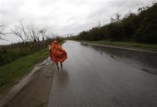 <p>Maltempo: allerta Protezione civile, temporali e venti forti. REUTERS/Claudia Daut</p>