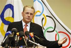 <p>O presidente do COI, Jacques Rogge REUTERS/Thierry Roge (BELGIUM)</p>