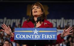 <p>La candidata repubblicana alla vice-presidenza Usa Sarah Palin. REUTERS/Brian Snyder</p>