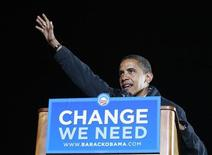 <p>Speranze e preghiere nel villaggio d'origine di Obama in Kenya. REUTERS/Jason Reed</p>