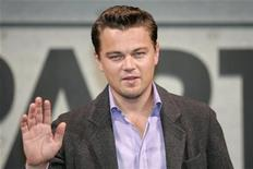 <p>Una immagine di archivio di Leonardo Di Caprio REUTERS/Kim Kyung-Hoon ì</p>