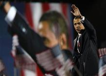 <p>Il presidente in pectore degli Stati Uniti Barack Obama.REUTERS/Carlos Barria</p>