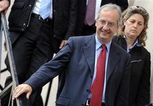 <p>Il leader del Partito democratico Walter Veltroni. REUTERS/Tony Gentile</p>