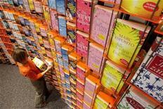 <p>Libreria in un'immagine d'archivio. REUTERS/Alex Grimm</p>