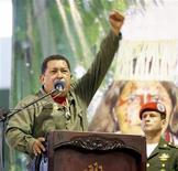 <p>Il presidente venezuelano Hugo Chavez. REUTERS/Guillermo Granja</p>