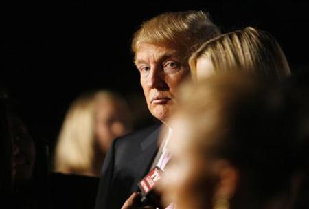 Donald Trump is seen at the Trump International Hotel and Tower Dubai party in the Bel Air section of Los Angeles August 23, 2008. REUTERS/Mario Anzuoni