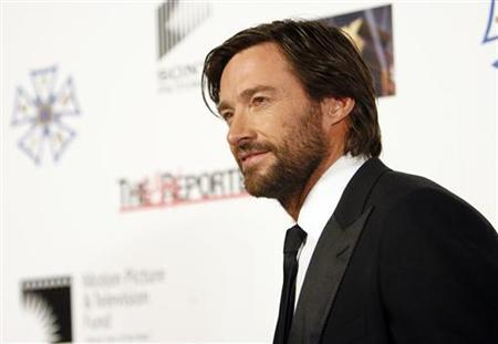 Actor Hugh Jackman attends the third annual ''A Fine Romance'' evening gala in Culver City, California October 20, 2007. REUTERS/Mario Anzuoni