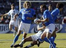 <p>Immagine d'archivio della nazionale italiana di rugby. REUTERS/Mauro Caceres (ARGENTINA)</p>
