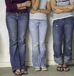 <p>Teen girls are seen in a file photo. REUTERS/Jessica Rinaldi</p>