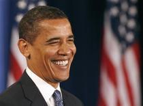 <p>Il presidente eletto degli Stati Uniti Barack Obama. REUTERS/Jeff Haynes (UNITED STATES)</p>