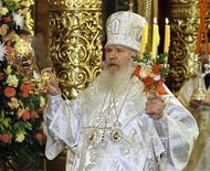 <p>Il patriarca russo ortodosso Alessio II. REUTERS/Vladimir Suvorov/Files</p>
