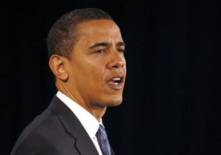 President-elect Barack Obama speaks during a news conference in Chicago, November 25, 2008. REUTERS/Jeff Haynes