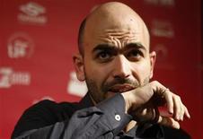 <p>Lo scrittore Roberto Saviano, autore di Gomorra. REUTERS/Marcelo del Pozo (SPAIN)</p>