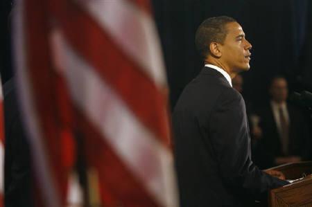 12月8日、「オバマ体験」ゲームが米大統領就任日に発売へ。11月に撮影(2008年 ロイター/Jeff Haynes)