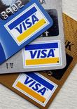 <p>Joseph Saunders, directeur général de Visa, premier réseau mondial de cartes de crédit, a révélé jeudi avec un mélange d'embarras et d'amusement qu'il avait perdu sa propre carte de paiement. /Photo d'archives/REUTERS/Chip East</p>