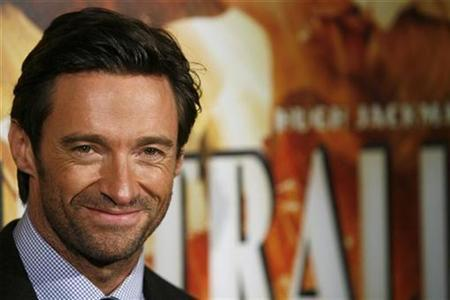 Actor Hugh Jackman arrives for the premiere of the film ''Australia'' in New York November 24, 2008. REUTERS/Lucas Jackson