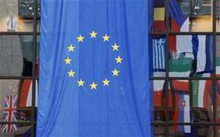 <p>La bandiera dell'Unione europea. REUTERS/Thierry Roge (BELGIUM)</p>
