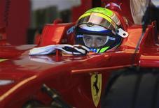 <p>Piloto da Ferrari Felipe Massa durante testes de pré-temporada da Ferrari na Espanha, em dezembro. REUTERS/Anton Meres</p>