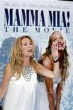 """<p>L'attrice Kathie Lee Gifford alla prima del film """"Mamma Mia!"""" a New York. REUTERS/Keith Bedford</p>"""