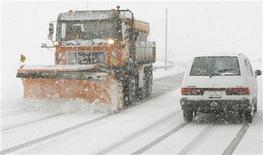 <p>Maltempo, previste nevicate oggi e domani su Nordovest ed Emilia. REUTERS/Arnd Wiegmann</p>