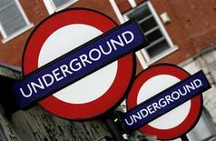<p>Une Polonaise est devenue le 19 décembre la deuxième femme à donner naissance à un bébé dans le métro de Londres depuis son ouverture il y a 146 ans. /Photo d'archives/REUTERS/Alessia Pierdomenico</p>