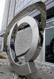 <p>El logo de Nortel fuera de las oficinas centrales de la empresa en Toronto, 6 mayo 2008. Nortel Networks Corp, el mayor fabricante de equipos de telecomunicaciones de Norteamérica, solicitó el miércoles la protección por bancarrota, debido a que la crisis económica mundial sigue golpeando a su alguna vez exitoso negocio. REUTERS/Mike Cassese (CANADA)</p>