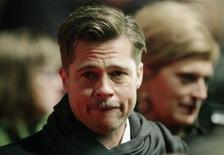 <p>L'attore Usa Brad Pitt. REUTERS/Hannibal Hanschke</p>