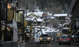 <p>A view of Main Street at the 2009 Sundance Film Festival in Park City, Utah January 14, 2009. REUTERS/Danny Moloshok</p>