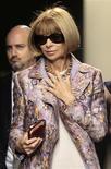 <p>A editora da Vogue norte-americana, Anna Wintour REUTERS/Alessandro Garofalo (ITALY)</p>
