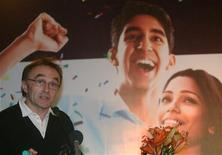 "<p>British director Danny Boyle speaks during a news conference for his new film ""Slumdog Millionaire"" in Mumbai January 20, 2009. REUTERS/Punit Paranjpe</p>"