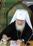 <p>Il patriarca russo Kirill. REUTERS/Alexander Natruskin</p>