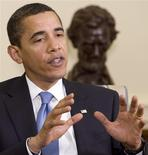 <p>O presidente dos EUA, Barack Obama REUTERS/Larry Downing (UNITED STATES)</p>