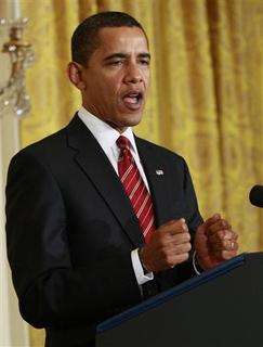 U.S. President Barack Obama makes remarks before signing the Middle Class Working Families Task Force executive order in the East Room of the White House in Washington, January 30, 2009. REUTERS/Jason Reed