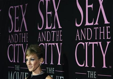 Actress Sarah Jessica Parker arrives for the DVD launch event for ''Sex and the City: The Movie'' in New York September 18, 2008. REUTERS/Lucas Jackson