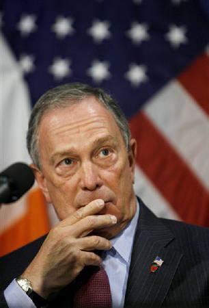 2月5日、ニューヨークのブルームバーグ市長は「メープルシロップの謎」は解決したとコメント。昨年11月撮影(2009年 ロイター/Lucas Jackson)