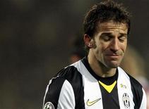 <p>L'attaccante juventino Alessandro Del Piero. REUTERS/Alessandro Garofalo</p>
