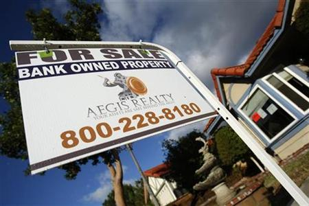 A foreclosed home is shown in Corona, California, December 18, 2008. REUTERS/Lucy Nicholson
