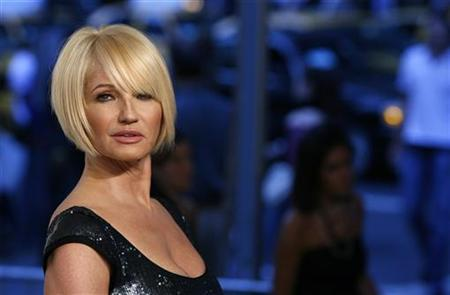 Host Ellen Barkin arrives to attend the 2007 CFDA Fashion Awards in New York June 4, 2007. REUTERS/Lucas Jackson
