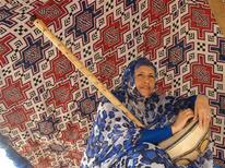 <p>Malouma, a Mauritanian vocalist who blends western style music with traditional Moorish influences from her native North African country, is seen in this undated handout photograph. More than 800 Arab artists from 22 countries will appear in Washington in the largest ever presentation of Arab arts in the United States, a three-week event that coincides with President Barack Obama's attempt to build better relations with the Muslim world. REUTERS/The Kennedy Center/Handout</p>