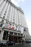 <p>The Plaza Hotel in New York in a file photo. REUTERS/Lucas Jackson</p>