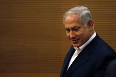 Israel's Likud party leader Benjamin Netanyahu attends a party meeting at the Knesset, the Israeli parliament, in Jerusalem March 2, 2009. REUTERS/Baz Ratner