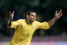 <p>Atacante Fred em amistoso da seleção brasileira contra o Equador, em Estocolmo. 10/10/2006. REUTERS/Scanpix/Jonas Ekstromer (SUÉCIA)</p>