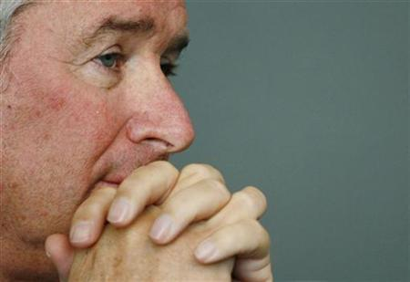 Stephen A. Schwarzman, Chairman, CEO and Co-Founder of the Blackstone Group, attends a conference on Sovereign Wealth Funds at the Asia Society in New York April 14, 2008. REUTERS/Shannon Stapleton