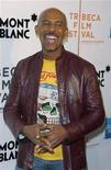 "<p>Montel Williams arrives for the premiere of the film ""War Inc."" during the Tribeca Film Festival in New York April 28, 2008. REUTERS/Lucas Jackson</p>"