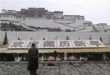 <p>Lhasa, capitale del Tibet. REUTERS/China Daily</p>