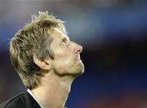 <p>Goleiro holandês Van Der Sar durante partida da Eurocopa de 2008. 21/06/2008. REUTERS/Ruben Sprich</p>