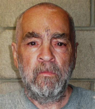 Convicted murderer Charles Manson, 74, is shown in a photo released from Corcoran State Prison in California on March 18, 2009. REUTERS/Courtesy of Corcoran State Prison/Handout