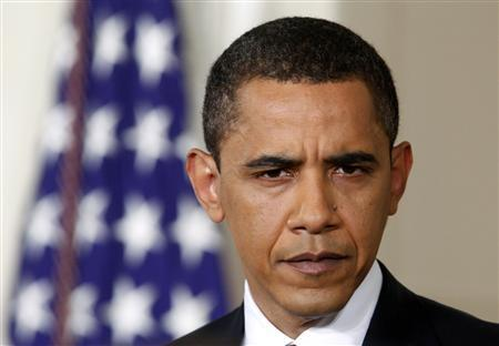 President Barack Obama listens during a prime time news conference in the East Room of the White House in Washington, March 24, 2009. REUTERS/Jim Young